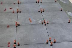 Aanleg terras Winterswijk (verlijmen ceramische tegels)