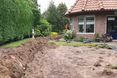 Aanleg beregeningssysteem tuin Almen